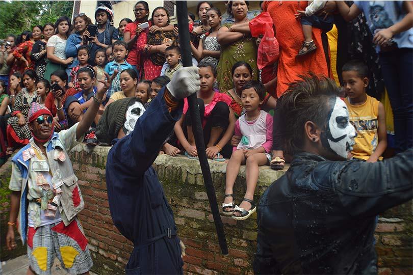 Gai Jatra a popular festival in Nepal